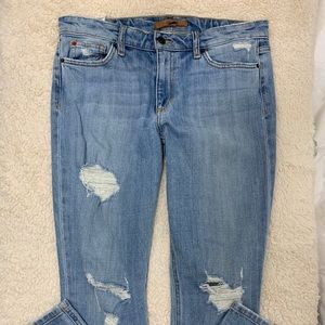 Joes skinny ankle distressed jeans Size 31